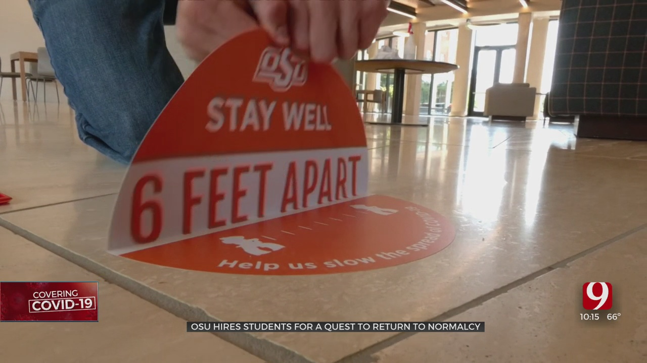 OSU Begins Removing COVID-19 Stickers, Decals Campus-Wide