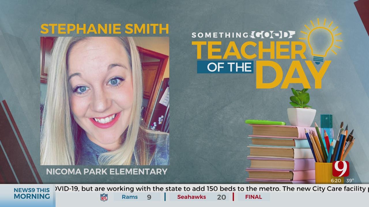 Teacher Of The Day: Stephanie Smith