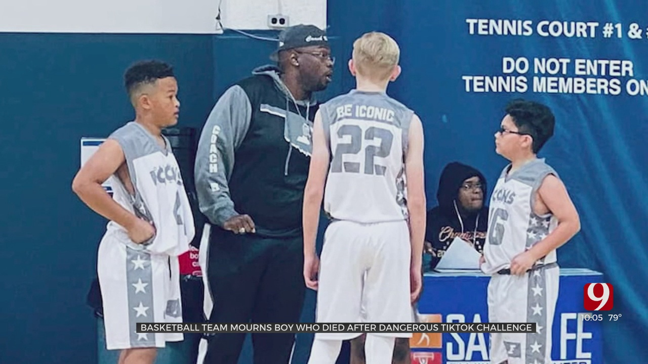 OKC Basketball Team Mourns Loss Of 12-Year-Old Player Who Died Attempting TikTok 'Black Out' Challenge
