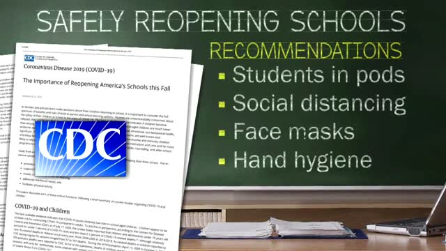 New CDC Guidelines Emphasize Schools Reopening In The Fall