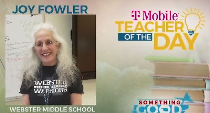 Teacher Of The Day: Joy Fowler