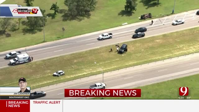 Emergency Crews Respond To Multi-Vehicle Rollover Crash In SW OKC