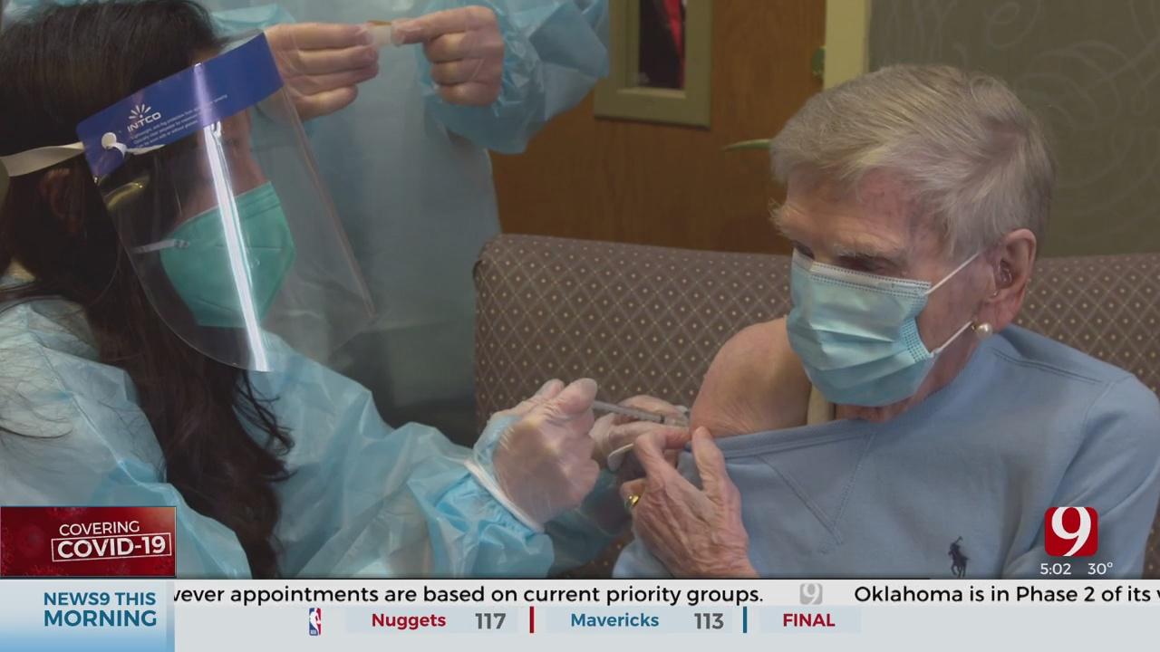 Entire OKC Retirement Community To Receive COVID-19 Vaccine
