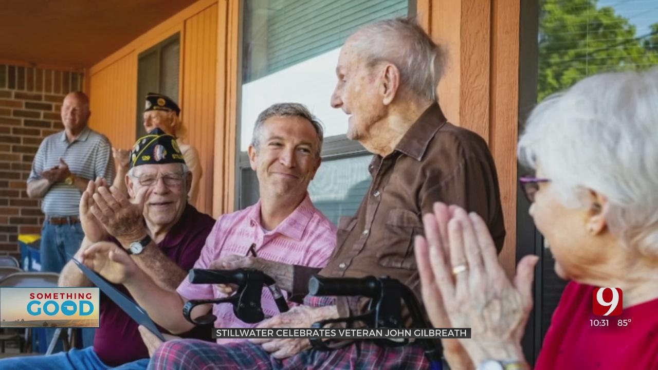 Something Good: Stillwater Veteran Celebrates 105th Birthday