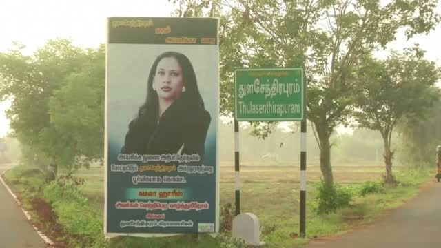 Indian Village Where Kamala Harris' Grandfather Was Born Prays For Her Win
