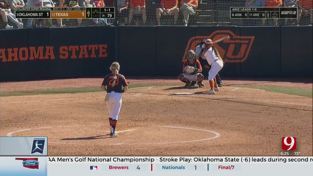 Longhorns Draw Even With Cowgirls, Force Game 3
