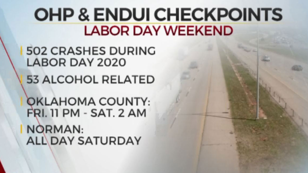 OHP, ENDUI Team Up For Sobriety Checkpoints This Weekend