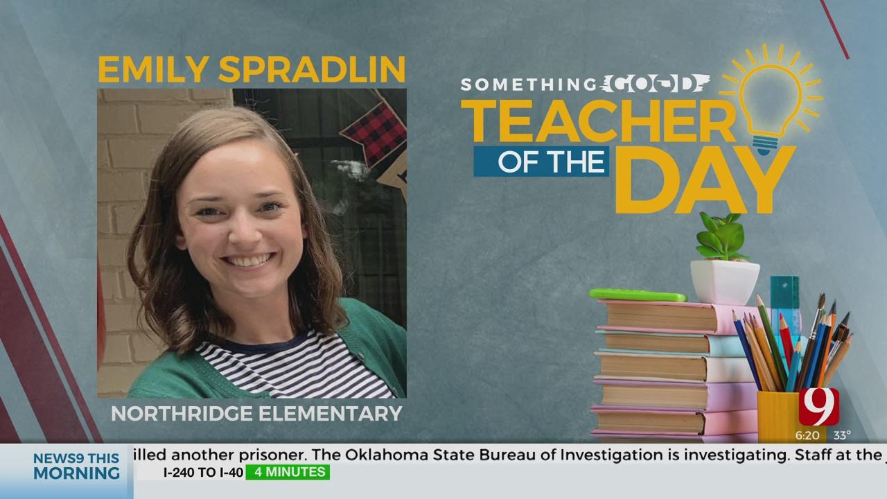Teacher Of The Day: Emily Spradlin