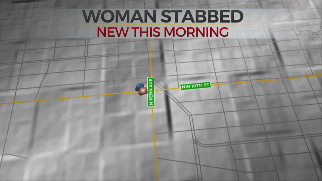Woman Recovering After NW OKC Stabbing