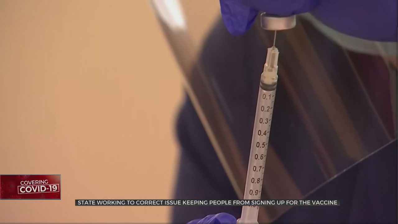 OSDH Working To Correct Issues Keeping People From Signing Up For COVID-19 Vaccine