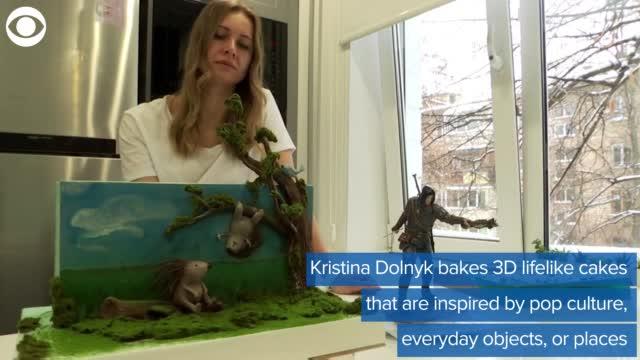 Ukrainian Baker Makes Lifelike Cakes