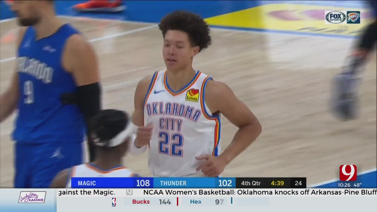 Orlando Waves Magic Wand, Casts OKC's Second Loss In 3 Games