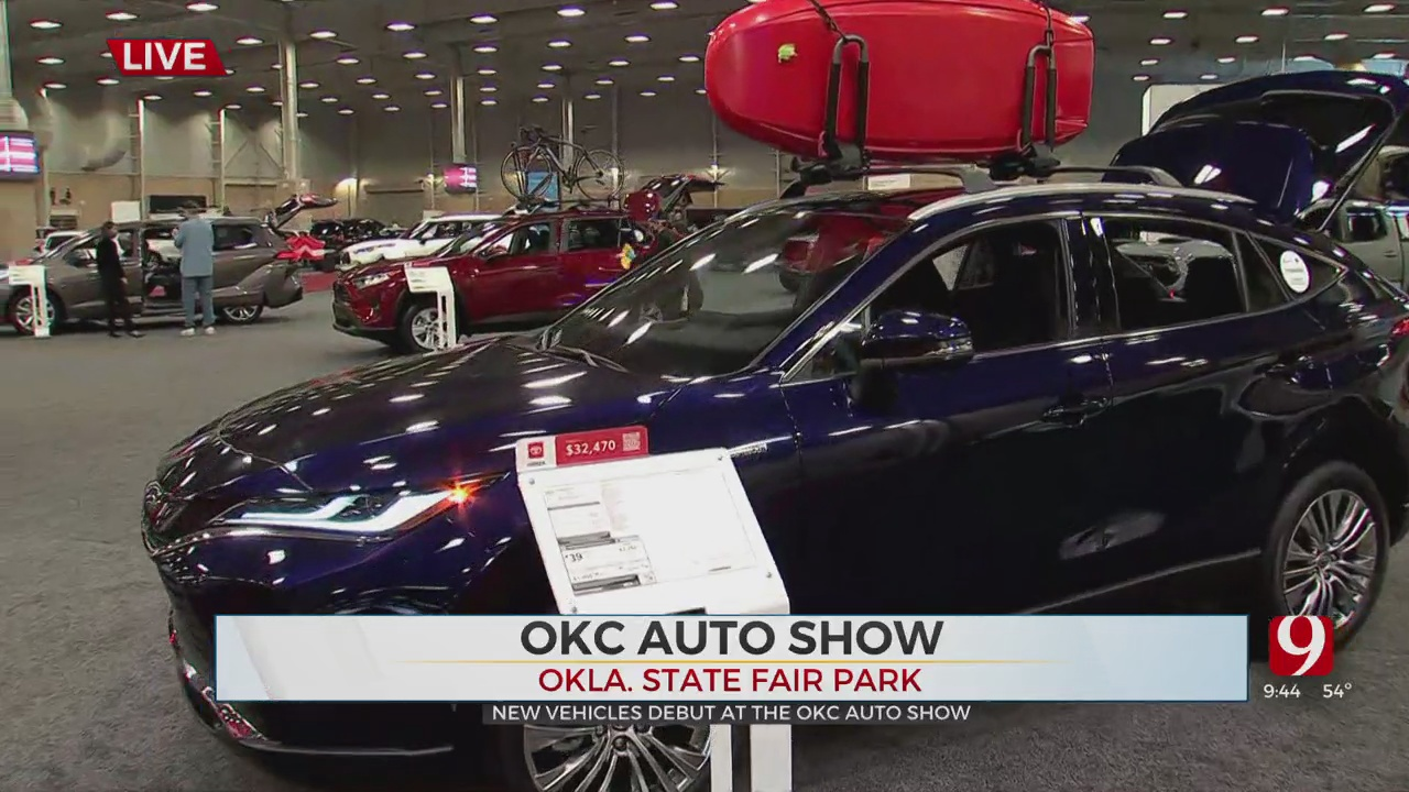 WATCH: First OKC Auto Show Since COVID-19 Pandemic Began