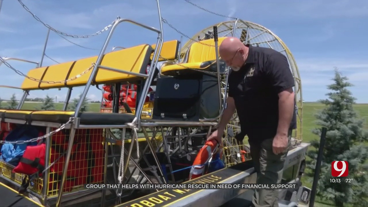 Grady Co. Volunteer Firefighter Seeking Donations For Hurricane Search And Rescue Nonprofit