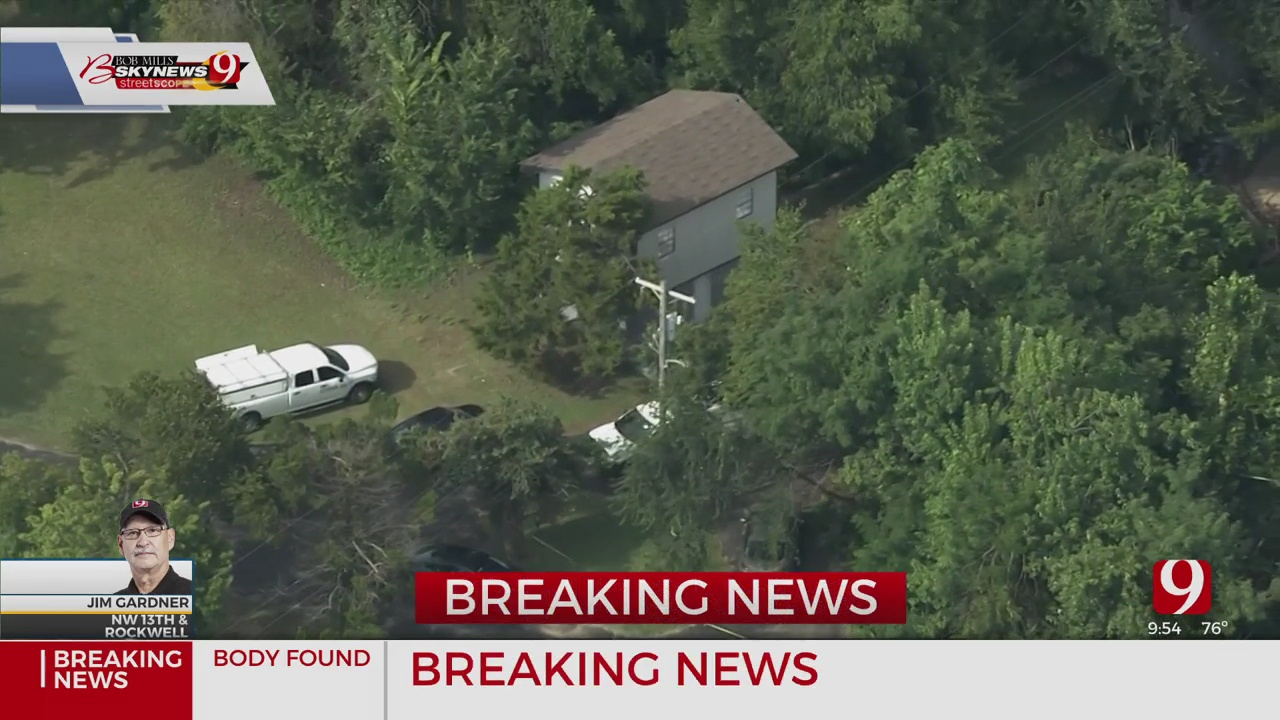 Police Investigate After Body Found In NW OKC
