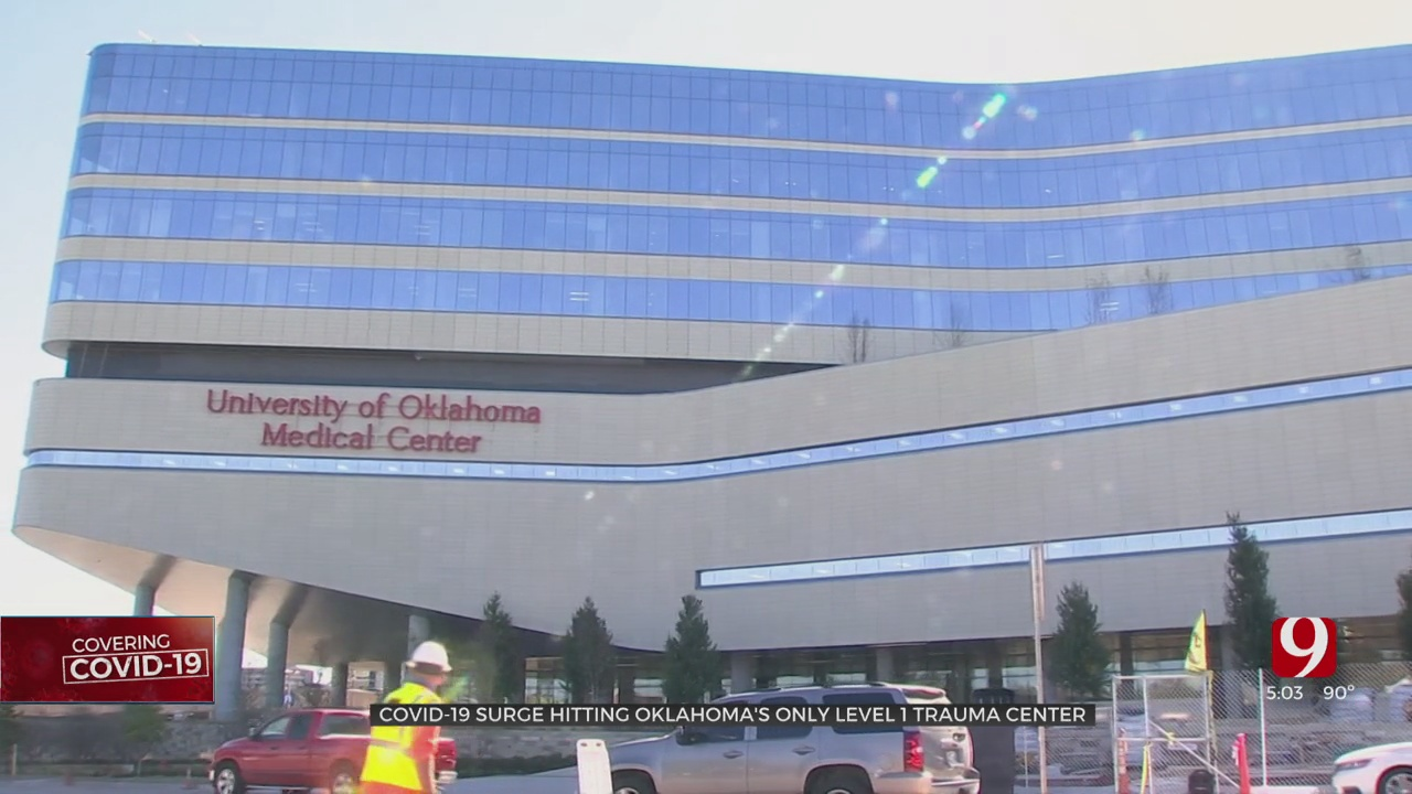 How COVID-19 Is Affecting The State's Only Level 1 Trauma Center