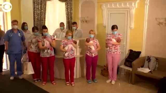 Babies Born To Surrogates Finally Meet Parents After Pandemic Restrictions Ease