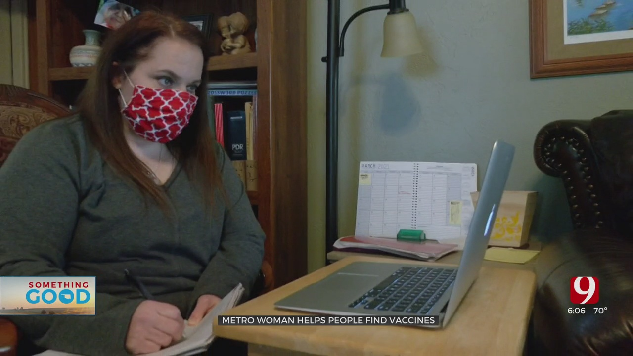 Norman Woman Dedicates Days & Nights To Helping People Find Vaccine Appointments