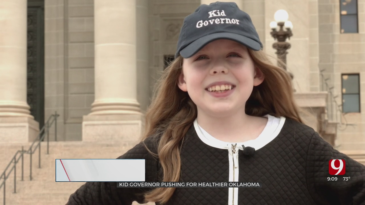 Something Good: Oklahoma's 'Kid Governor' Pushes For Healthier State