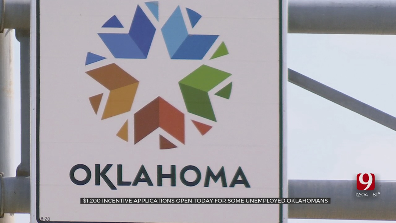 Applications Are Open For Oklahoma's $1,200 Back To Work Initiative