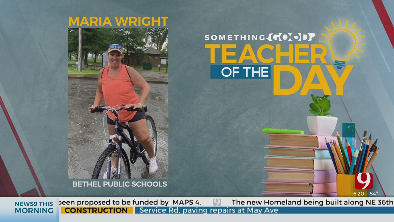 Teacher Of The Day: Maria Wright