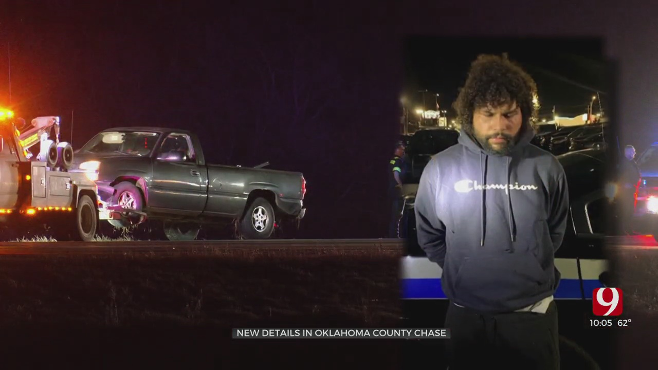 False Burglary Report Leads To Car Chase, Manhunt In Central Oklahoma