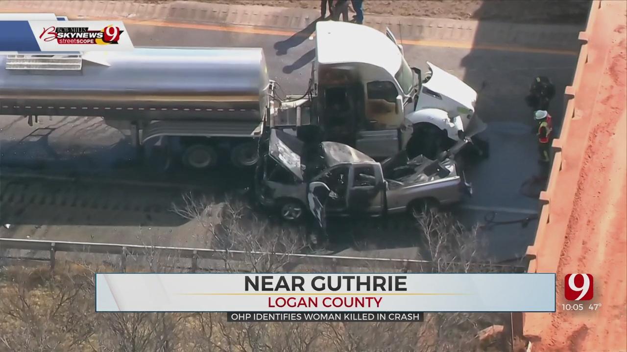 24-Year-Old Woman Killed In I-35 Crash In Logan County