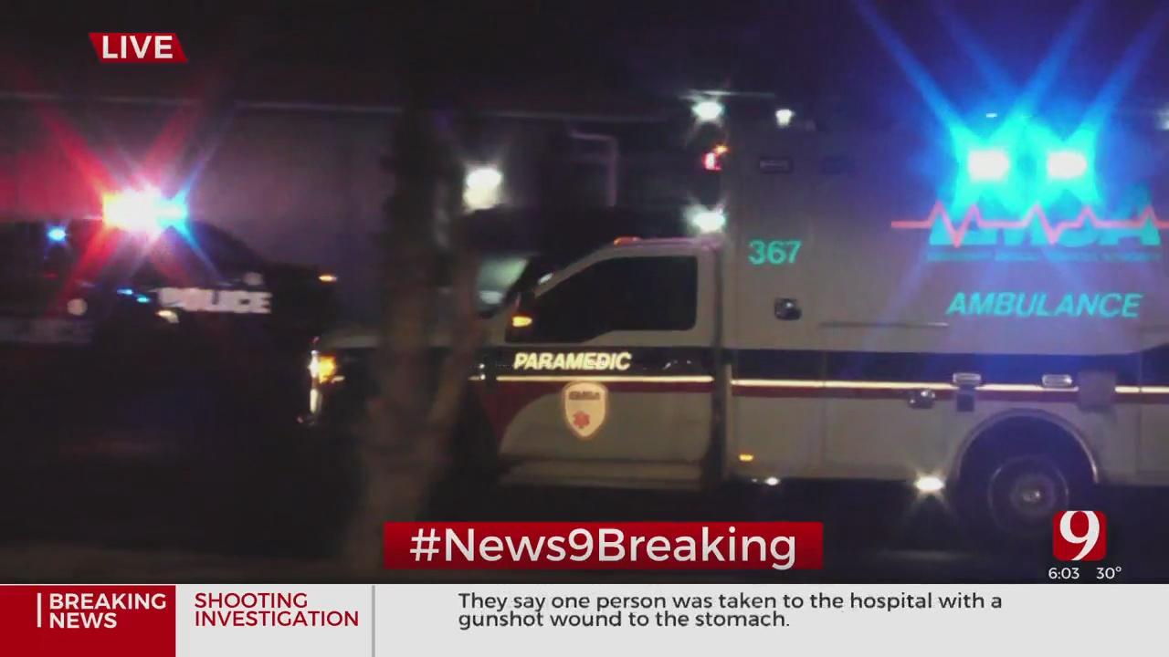 1 Taken To Hospital After Being Injured In Shooting In SE OKC
