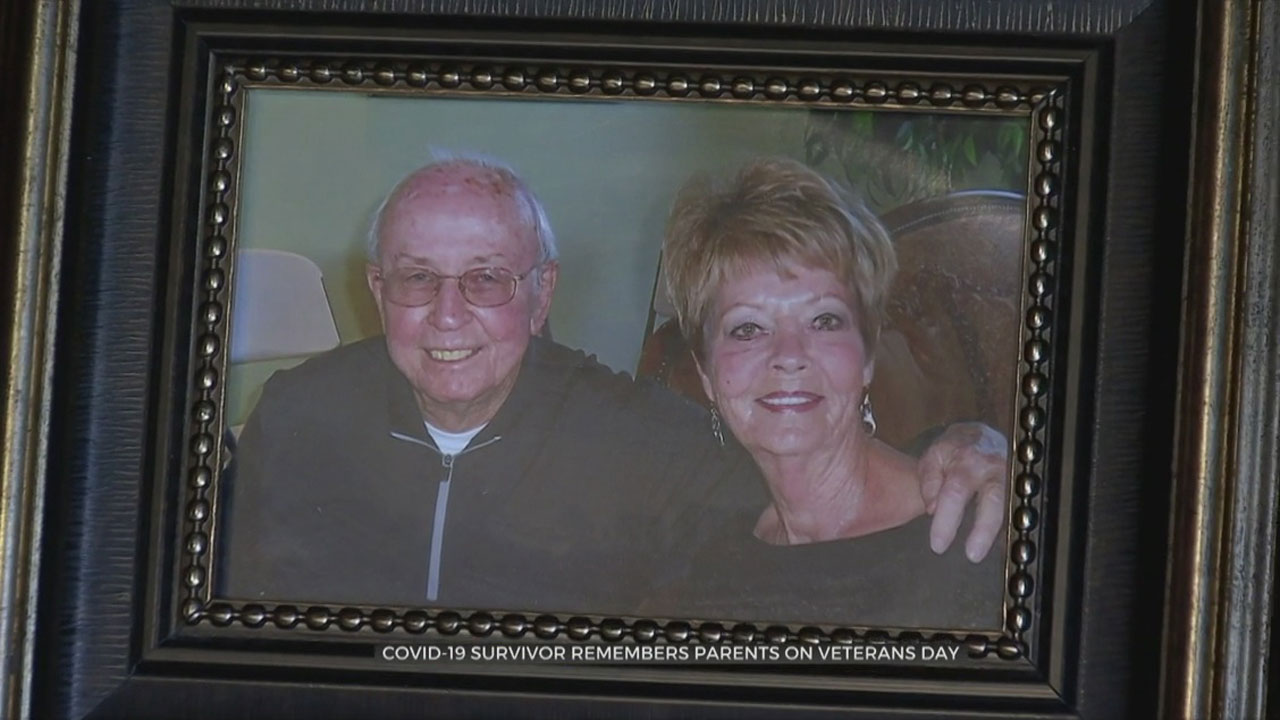 Son Remembers Air Force Veteran Father, Mother After Both Die From COVID-19 Complications