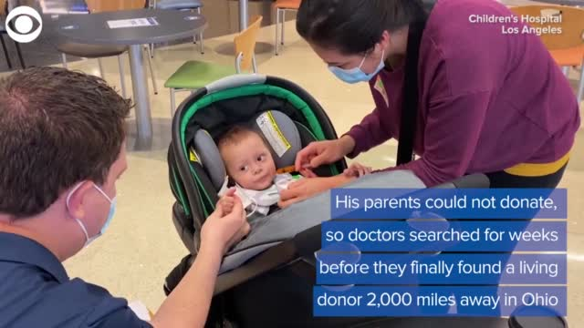 Family Celebrates Christmas After 2-Time Organ Donor Saves Baby