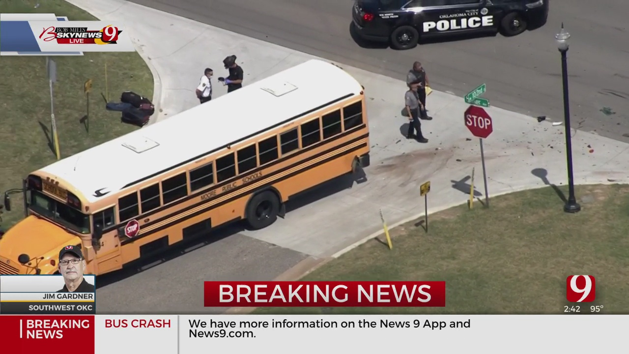 Moore Public Schools Bus Involved In Injury Accident