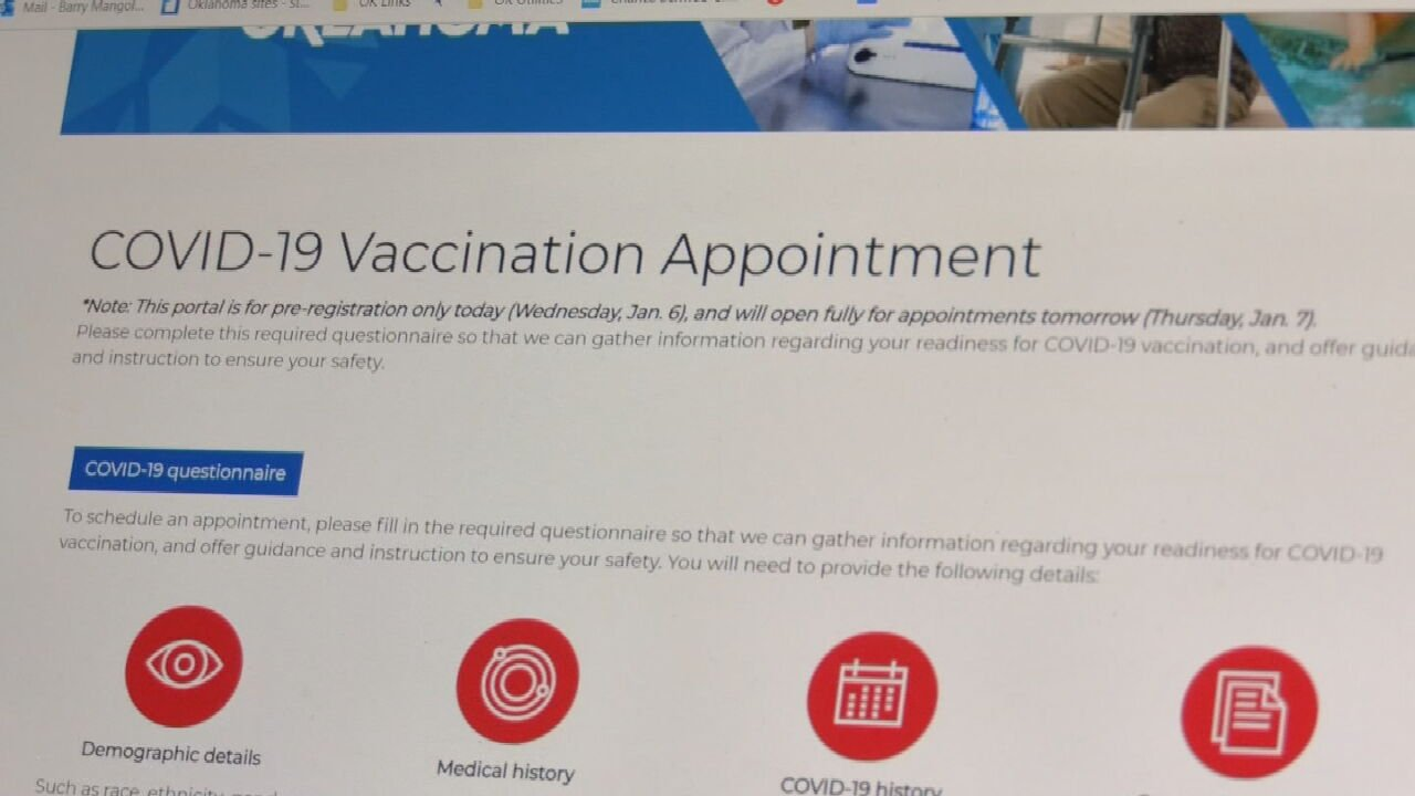State Health Officials Pleased With Vaccine Portal Performance