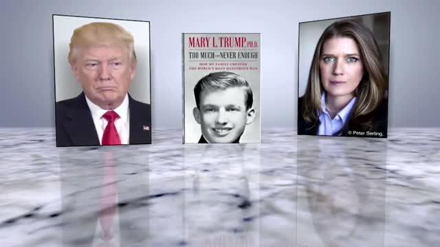 Trump A 'Narcissist' Still Seeking Late Father's 'Favor,' Niece Mary Trump Says In Tell-All Book