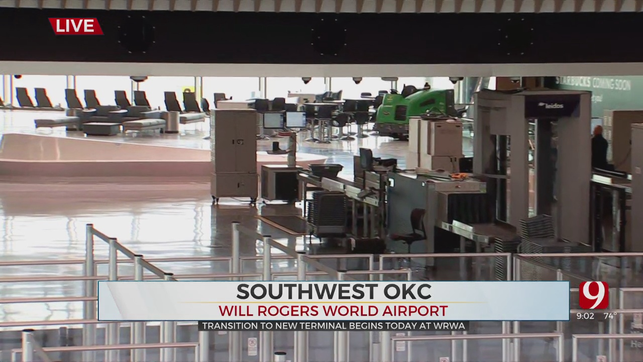 Will Rogers World Airport Opens New Terminal For Passenger Use On Wednesday