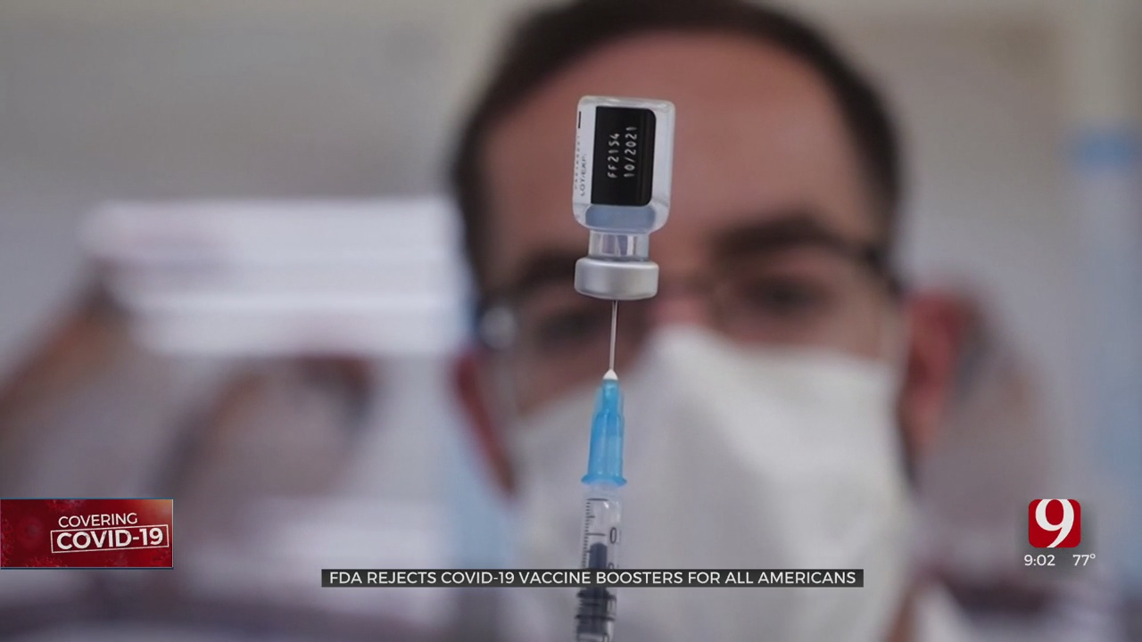 US Leaders Discuss Need For COVID Booster Shots