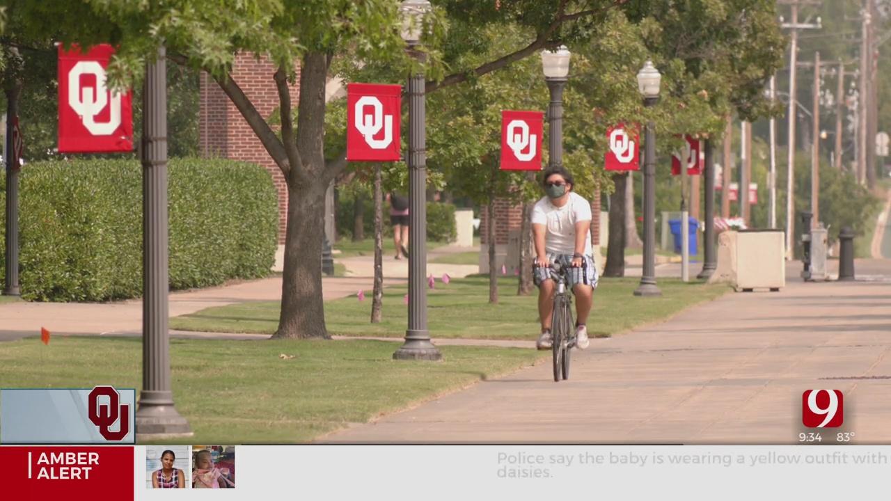 University of Oklahoma Officials Discuss Mask Mandates