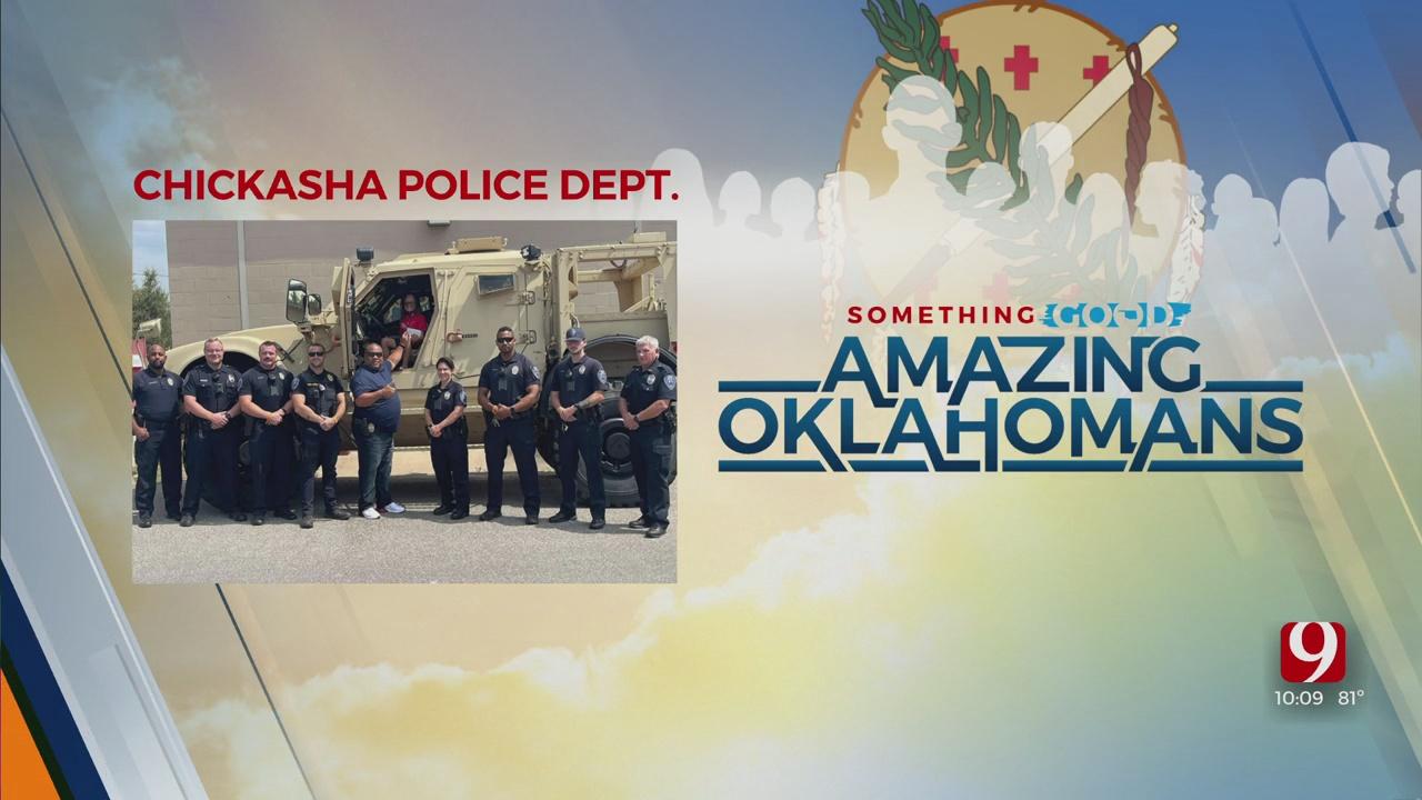 Amazing Oklahoman: Chickasha PD