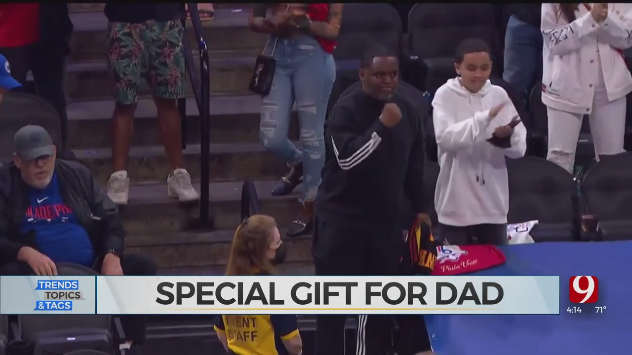 WATCH: Trae Young Has Special Gift For His Dad On Father's Day