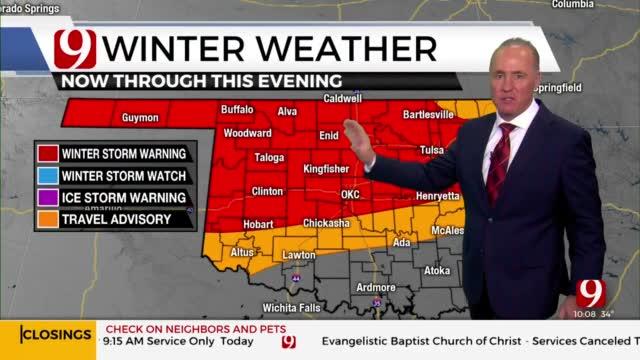 WATCH: David Payne's Mid-Morning Winter Storm Update
