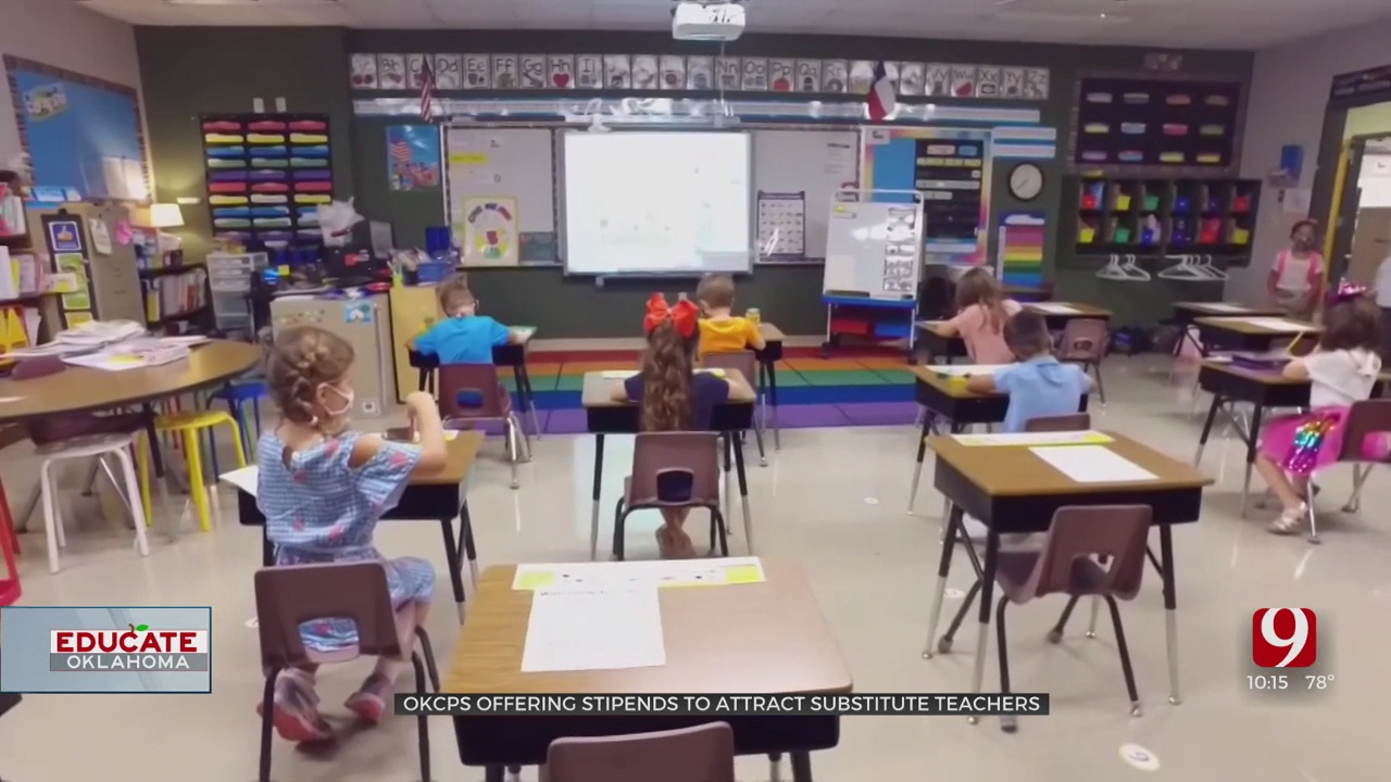 OKCPS Offering Stipend To Recruit Guest Teachers Amid Substitute Shortage