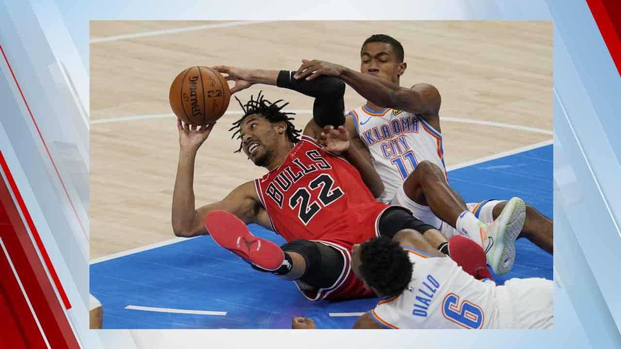 Oklahoma City Thunder Lose Preseason Game Against Bulls, 124-103