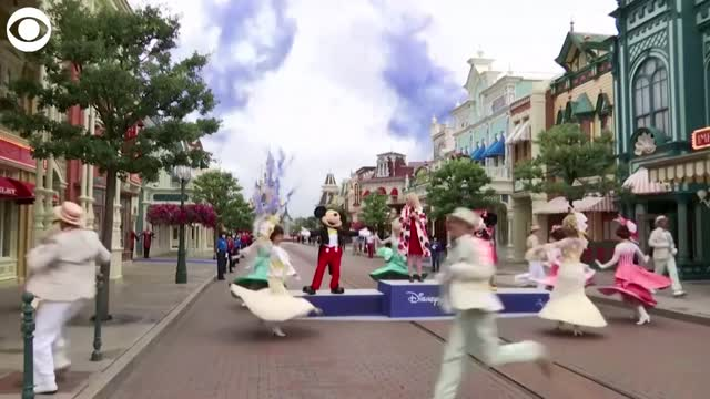 Disneyland Paris Begins Phased Reopening