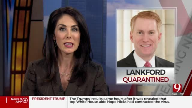 Okla. Senator James Lankford Entering Quarantine