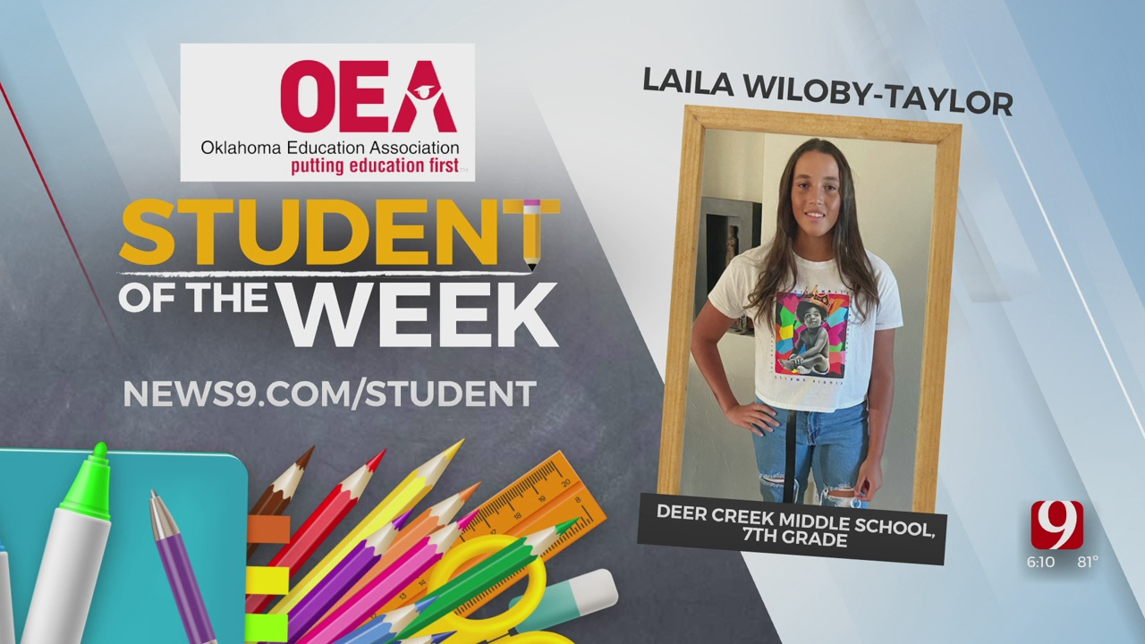 Student Of The Week: Laila Wiloby-Taylor