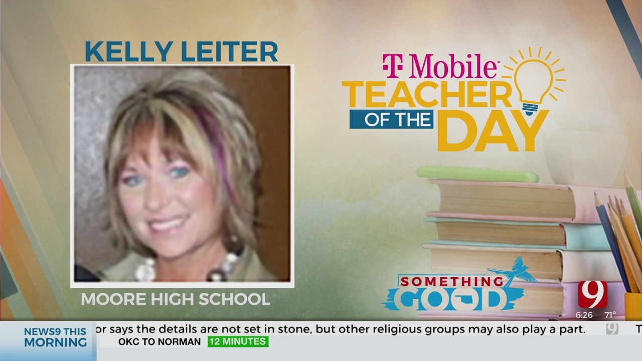 Teacher Of The Day: Kelly Leiter