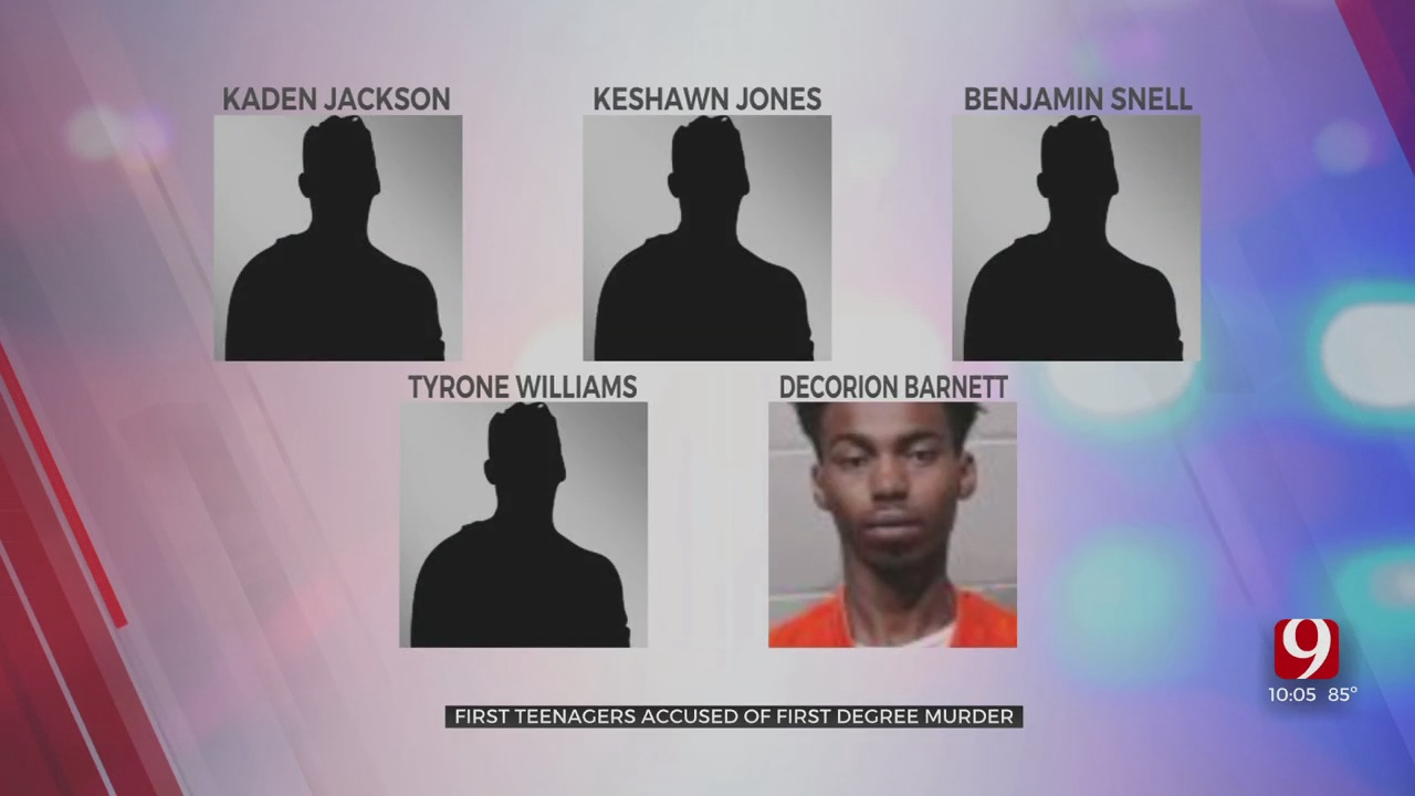 Moore Police Searching For Armed & Dangerous Teen Wanted On Murder Charge, 4 Other Teens Arrested