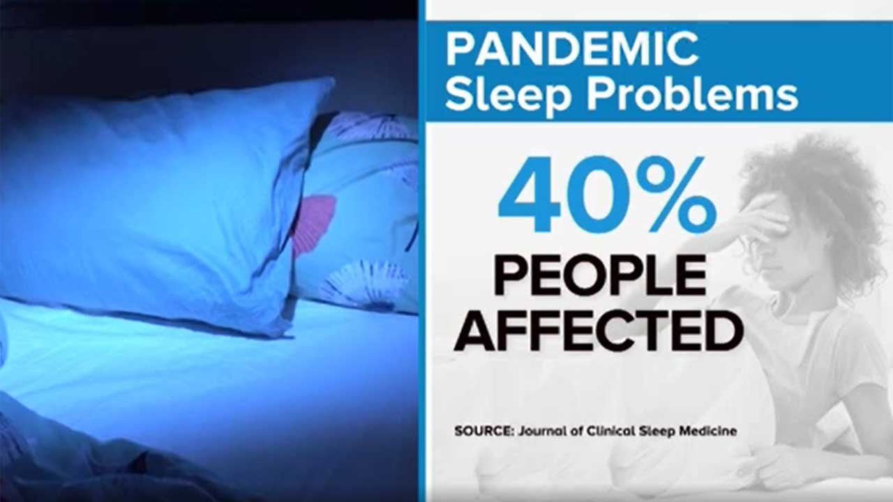 Pandemic Causing Growing Number Of Americans To Experience 'Coronasomnia'