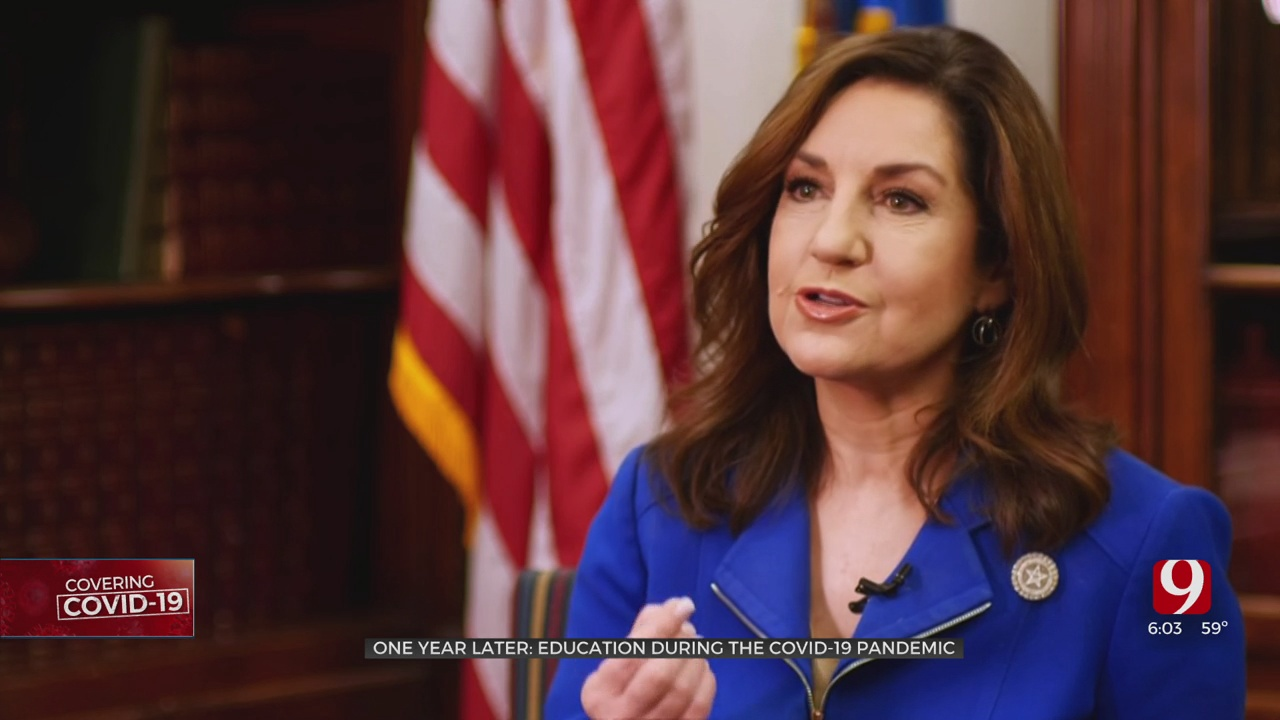 State Superintendent Joy Hofmeister Reflects On Past Year Amid COVID-19 Pandemic