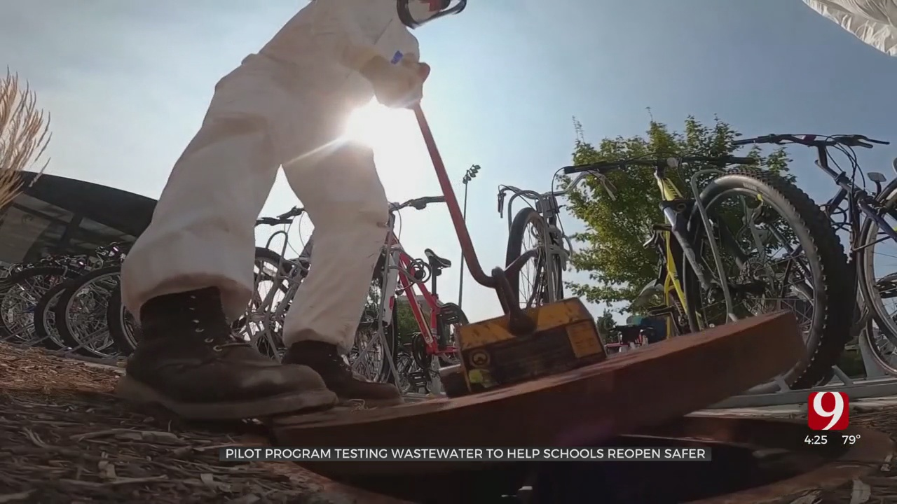 Medical Minute: Pilot Program Tests Wastewater To Help Schools Reopen Safer