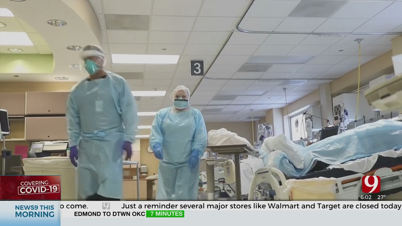 Oklahoma Doctors, Nurses Working Through Pandemic On Christmas Day